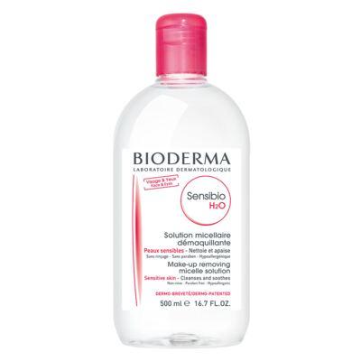 Imagem 1 do produto Sensibio H2O Solução Micellare Demaquilante Bioderma - Demaquilante - 500ml