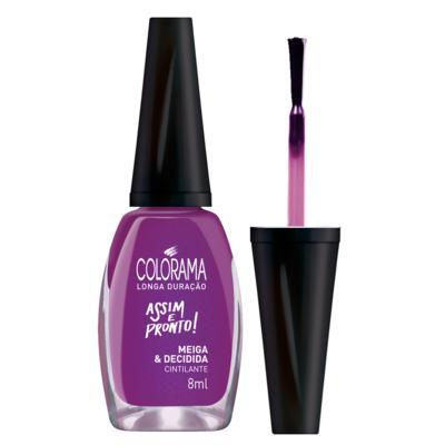 Imagem 4 do produto Esmalte Colorama - Assim e Pronto - Meiga e Decidida