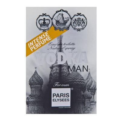 Imagem 2 do produto Vodka Man Paris Elysees - Perfume Masculino - Eau de Toilette - 100ml