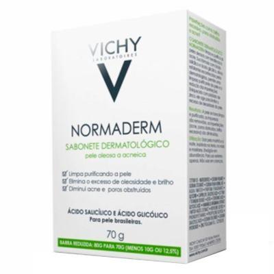 Imagem 1 do produto Sabonete em Barra Vichy - Normaderm | 70g