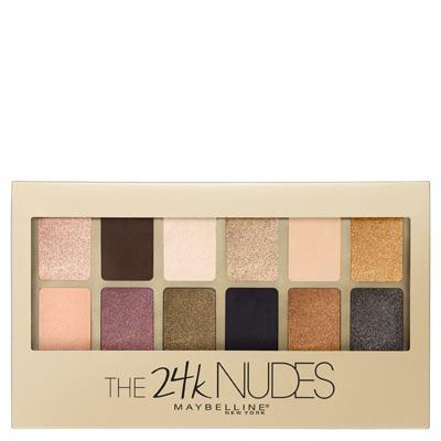 Imagem 1 do produto Paleta de Sombra Maybelline - The 24k Nudes Palette Gold - 1 Un