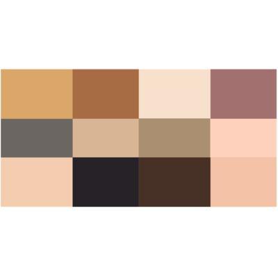 Imagem 2 do produto Paleta de Sombra Maybelline - The 24k Nudes Palette Gold - 1 Un