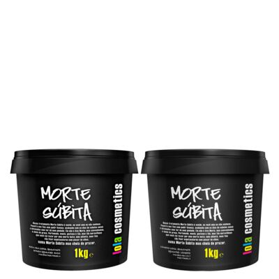 Kit Shampoo + Máscara Reconstrutora Lola Cosmetics Morte Súbita Super Hidratante - Kit