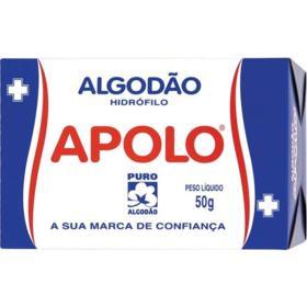 Algodão em Quadrado Apolo - Hidrófilo   50g