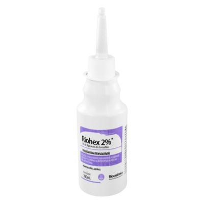 Solução com Tensoativos Rioquímica - Riohex 2% | 100ml