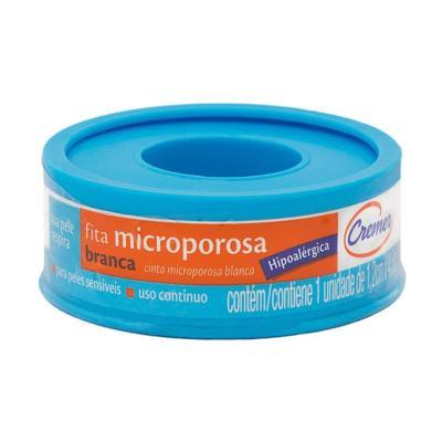 Imagem 1 do produto Fita Microporosa Cremer Branca Hipoalérgica 1,2cm x 4,5m