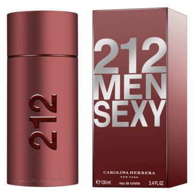 Imagem 2 do produto 212 Sexy Men Carolina Herrera - Perfume Masculino - Eau de Toilette - 100ml