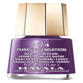 Mavala Mini Color 5ml - Esmalte Cintilante - 174 - Purple Sensation