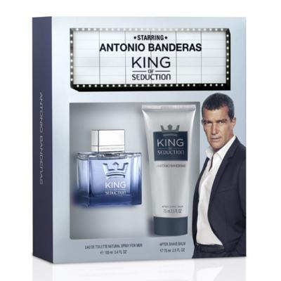 Antonio Banderas King of Seduction Kit - Perfume Masculino + Pós Barba - Kit