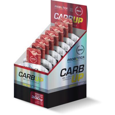 Imagem 1 do produto Carb Up Gel cx 10Und. - Probiótica - Morango