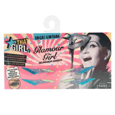 Imagem 1 do produto Delineador Adesivo Glamour Girl - That Girl - Kit