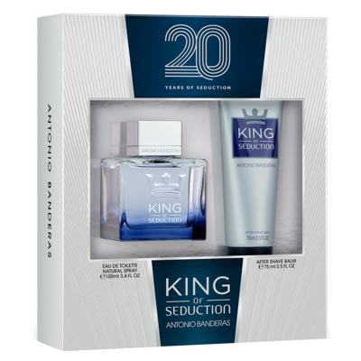 Imagem 1 do produto Antonio Banderas King of Seduction Kit - Eau de Toilette + Pós-Barba - Kit