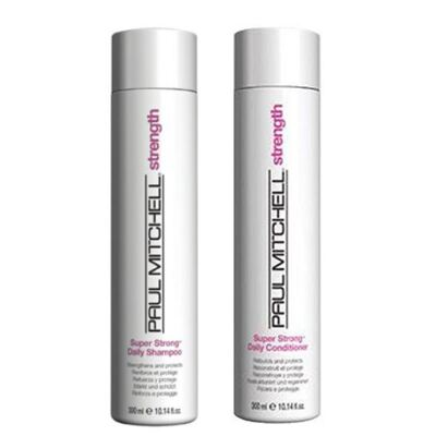 Imagem 1 do produto Kit Shampoo + Condicionador Paul Mitchell Super Strong Daily - Kit