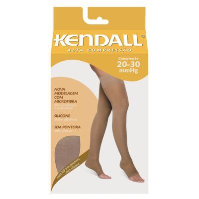 Imagem 1 do produto MEIA COXA 20-30 ALTA KENDALL - MEL PONTEIRA ABERTA GG