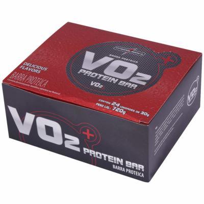 Imagem 1 do produto Vo2 Proteinbar Cx 24 Un. - Integralmedica - Chocolate