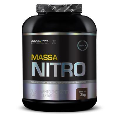 Massa Nitro 3Kg - Probiótica - Chocolate