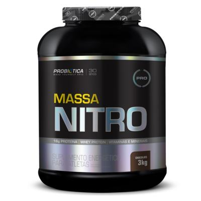 Imagem 1 do produto Massa Nitro 3Kg - Probiótica - Chocolate