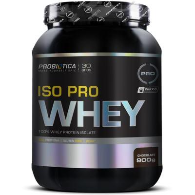 Imagem 1 do produto Isopro Whey 900g - Probiótica - Chocolate