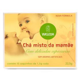 Chá Misto Da Mamãe Weleda - 15 Saquinhos de 1,5g