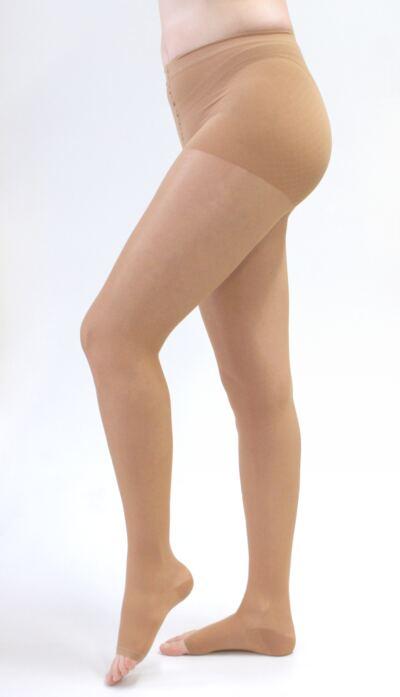 Imagem 1 do produto Meia Calça 20-30 mmHg Sheer & Soft Medi - NATURAL I PONTEIRA ABERTA