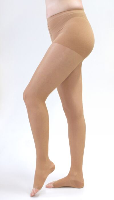 Imagem 2 do produto Meia Calça 20-30 mmHg Sheer & Soft Medi - NATURAL I PONTEIRA ABERTA