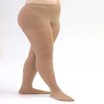 Meia Calça 20-30 mmHg Assure Medi - BEGE GG (FECHADO)