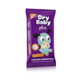 Toalhas Umedecidas Baby Dove - Dry Baby Plus | 50 unidades