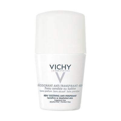 Imagem 1 do produto Vichy Desodorante Anti-Transpirante 48h Pele Sensível Roll On 50ml