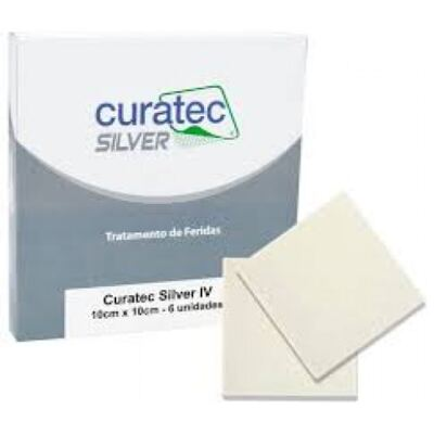 Curativo Silver IV Curatec - 15X15CM