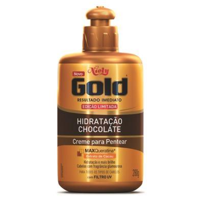 Creme de Pentear Niely Gold Hidratação Chocolate com 280g