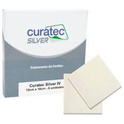 Imagem 2 do produto Curativo Silver IV Curatec - 10X10CM
