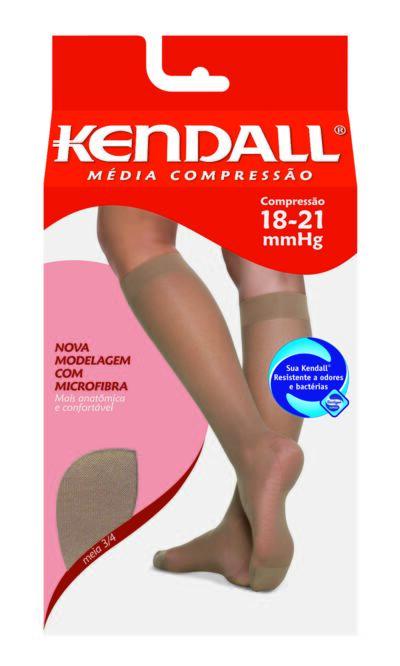 Imagem 1 do produto Meia Panturrilha 18-21 mmHg Média Kendall - MEL PONTEIRA FECHADA GG