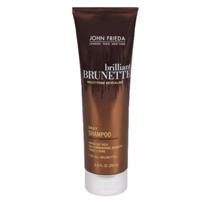 Imagem 3 do produto Kit Shampoo + Condicionador John Frieda Brilliant Brunette Liquid Shine - Kit