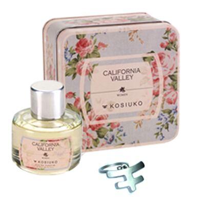 Imagem 1 do produto California Valley Eau de Parfum Kosiuko - Kit de Perfume Feminino + Chaveiro - 50ml