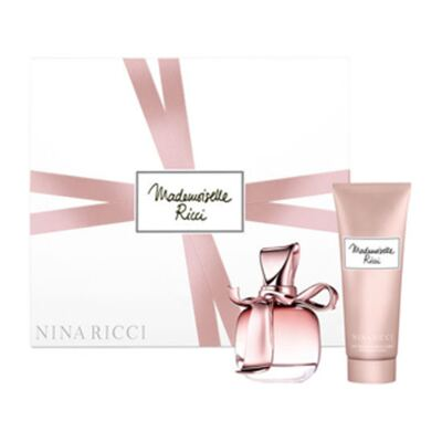 Imagem 1 do produto Mademoiselle Ricci Nina Ricci - Feminino - Eau de Parfum - Perfume + Loção Corporal - Kit