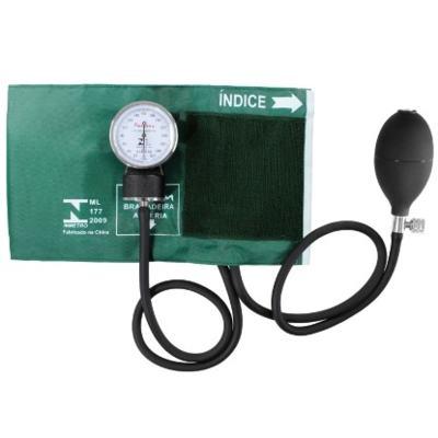 Aparelho de Pressão Aneróide Verde Premium