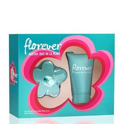 Kit Florever Agatha Ruiz de La Prada Eau de Toilette Feminino - 80 ml + Body Lotion 100 ml
