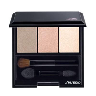 Luminizing Satin Eye Color Trio Shiseido - Paleta de Sombras - BE213 - Nude
