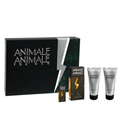 Imagem 1 do produto Animale For Men Animale - Masculino - Eau de Toilette - Perfume + Pós- Barba + Gel de Banho + Miniatura - Kit