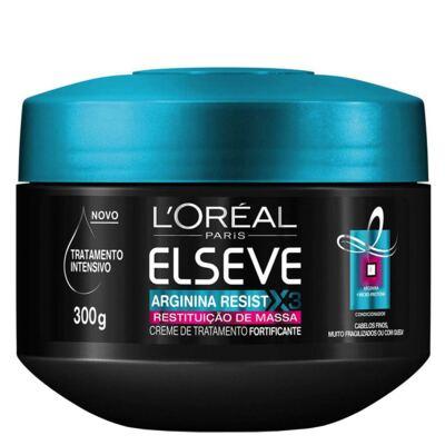 Imagem 1 do produto L'Oréal Paris Elseve Arginina Restituição de Massa - Creme de Tratamento - 300g