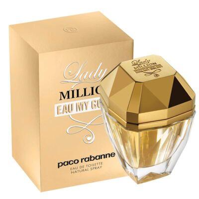 Imagem 1 do produto Lady Million Eau My Gold Feminino de Paco Rabanne Eau de Toilette - 50 ml