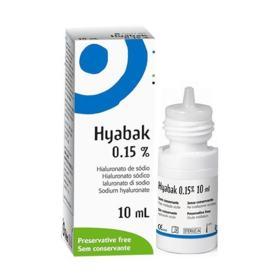 Hyabak Solução Oftalmica - 15 | 10ml