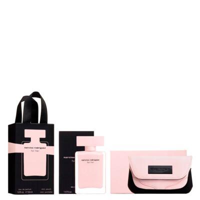 Narciso Rodriguez For Her Narciso Rodriguez - Feminino - Eau de Parfum - Perfume + Nécessaire - Kit