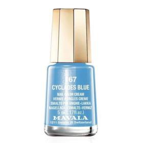 Esmalte Mavala Mini Color Perolado - 167 - Cyclades Blue | 5ml