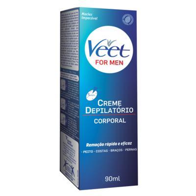 Imagem 1 do produto Creme Depilatório For Men Veet - Depilatório Corporal - 90ml