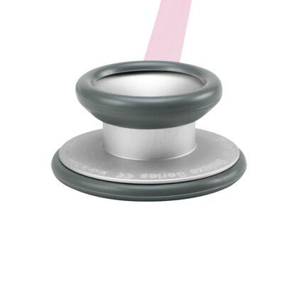 Imagem 3 do produto Kit Esteto Spirit Pro-Lite Rosa Transparente com Aparelho de Pressão Bic Rosa
