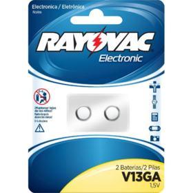 Bateria Alcalina Rayovac V13GA 1,5V 2un