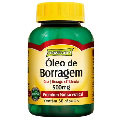 Óleo de Borragem 60cps - Maxinutri - 60Cps