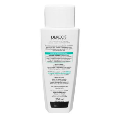 Imagem 4 do produto Vichy Dercos Shampoo Antioleosidade - 200ml