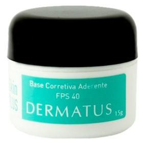 Skin Plus Base Corretiva Aderente FPS 40 Dermatus - Base Facial Corretiva - Cor F